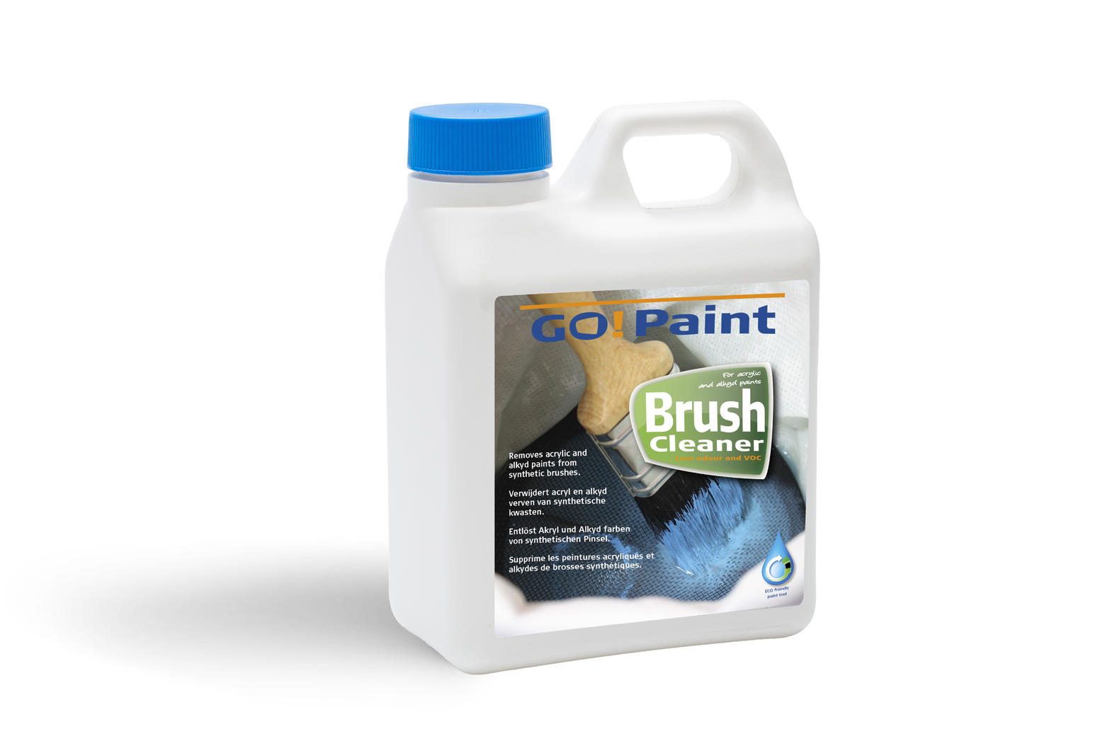Go!Paint BrushCleaner: het milieuvriendelijke alternatief voor terpentine en water voor het reinigen van verfborstels