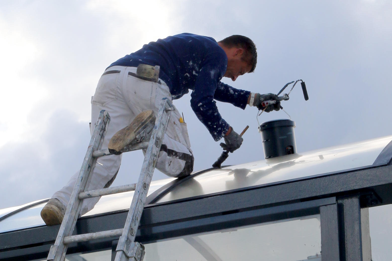 Painting when temperatures are low? Heat up your paint!
