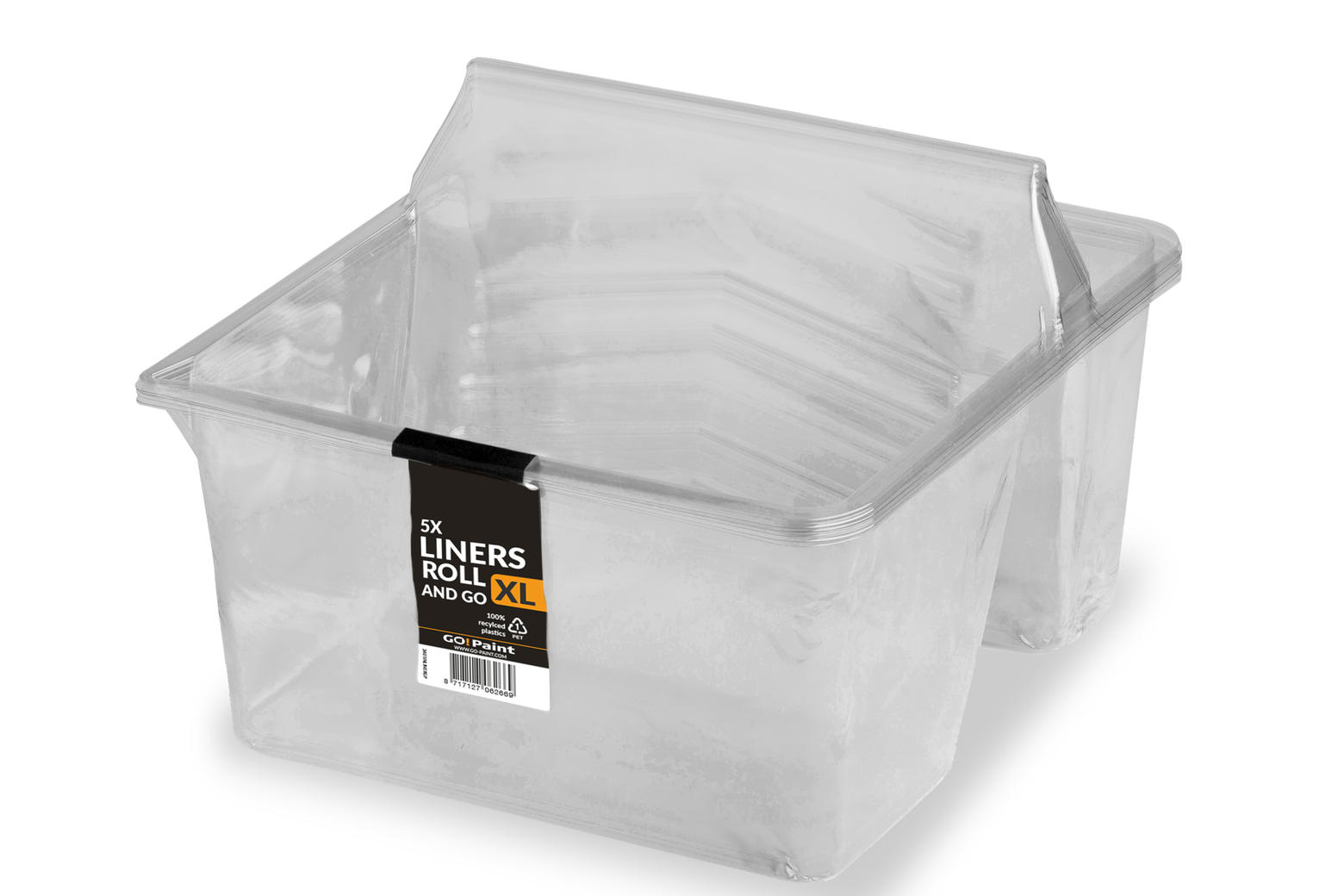 The special disposable liners mean you can use the tray again and again.