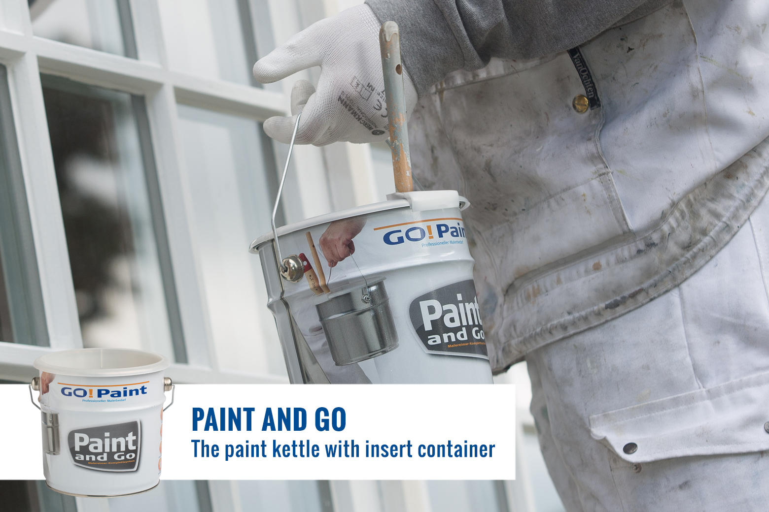 Full mobility, excellent for all in- and outdoor paintjobs.