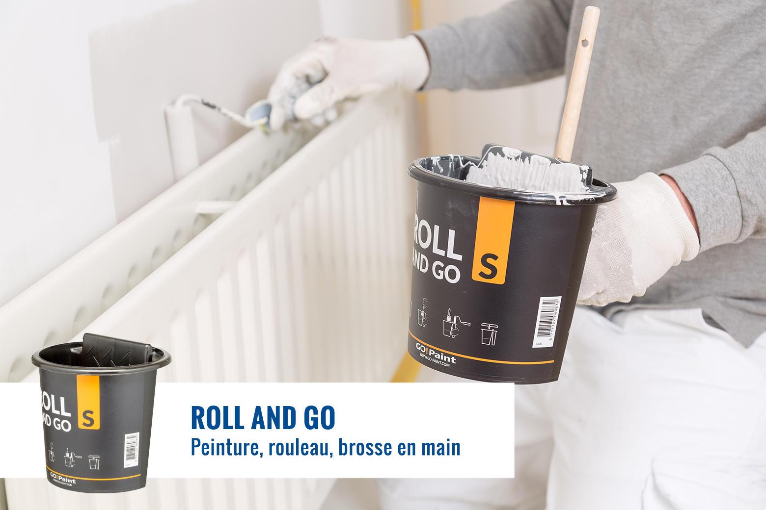Idéal pour les travaux de peinture intensifs à des endroits difficiles d'accès, tels qu'éléments de bouée, placards de cuisine, bateaux, portes.