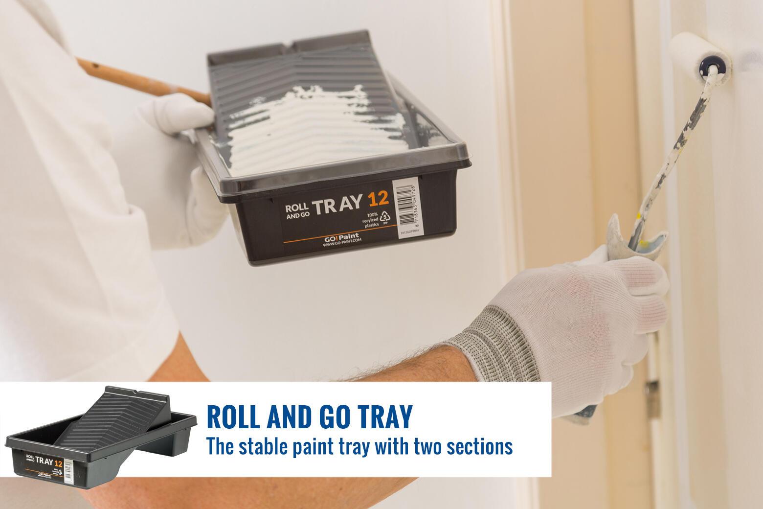 Bacs à peinture confortables pour les traveaux de peinture précise