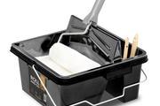 In het grote rolvak kan je met gemak 8 liter verf of lak plaatsen.