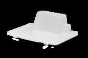 Deksel voor de verfbakken, zodat je verf en roller veilig kunt bewaren tijdens een onderbreking van het werk.