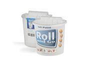 Roll and Go ist Farbe, Roller und Pinsel aus einer Hand.