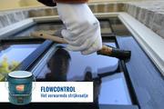 FlowControl omdat warme verf beter vloeit, ook schilderen bij lagere temperaturen.