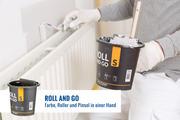 Roll and Go S bei jedem Job mit Miniroller oder Pinsel